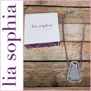 NEW Lia Sophia Ice Necklace